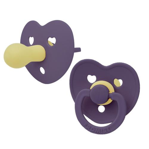 Heart silicone pacifier blackberry Pacifier Fromise