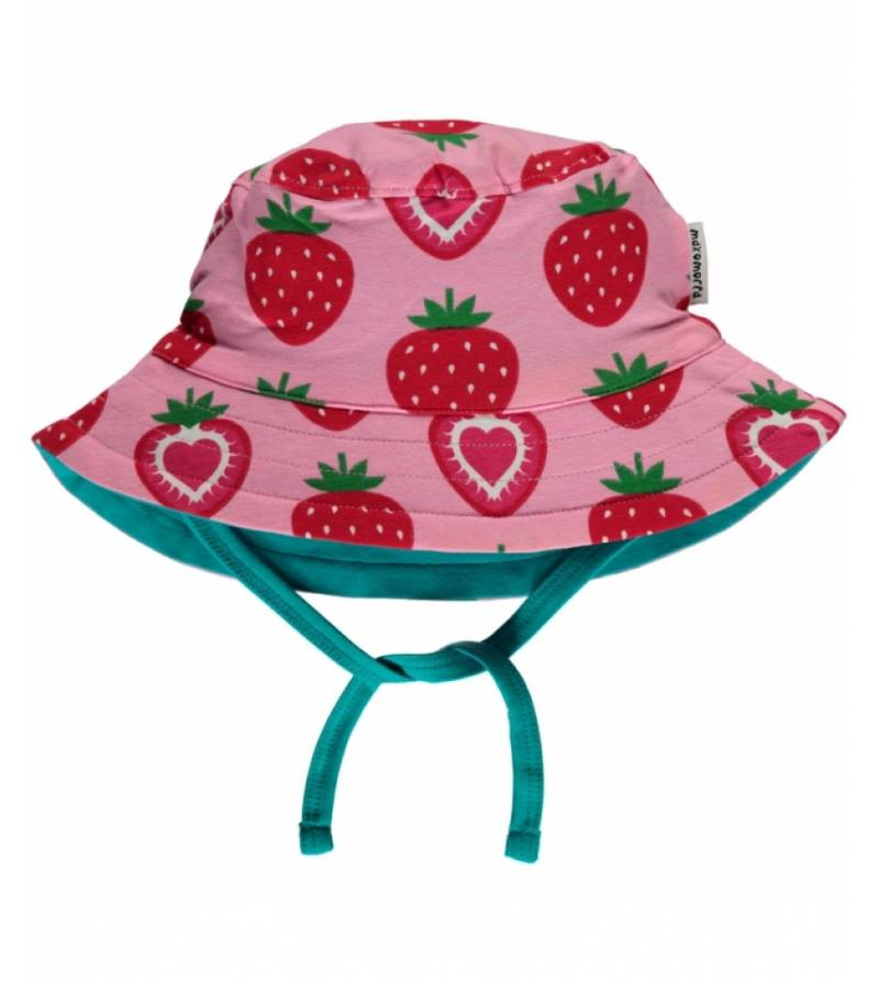 Strawberry hat sun cord