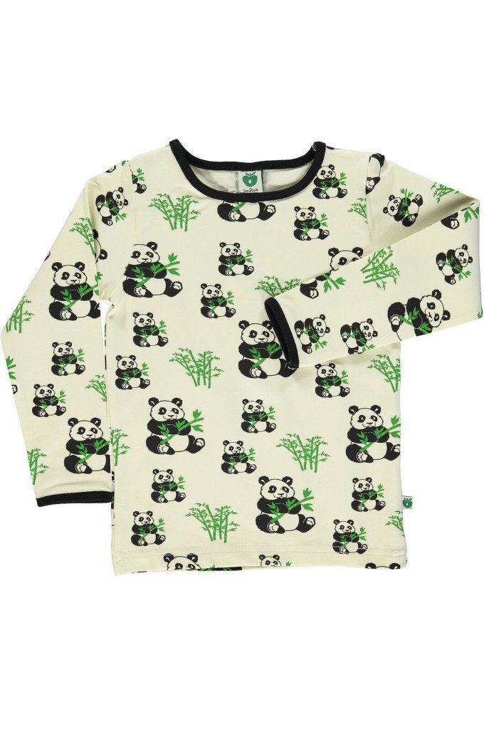 New George Long Sleeve Top Baby Boys 9-12 Months Ivory Owls Fox Side Pocket