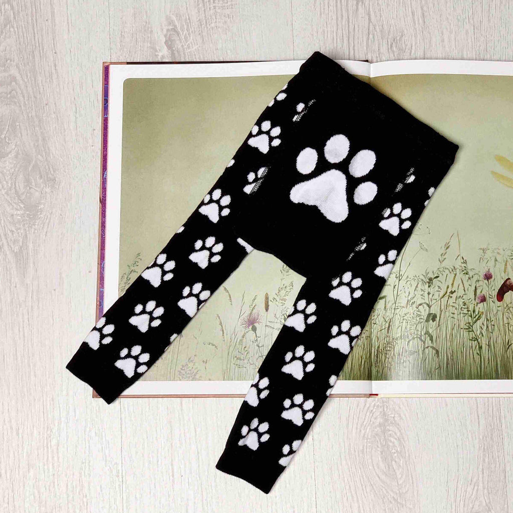 Paw leggings forever is one second Bottoms forever is one second