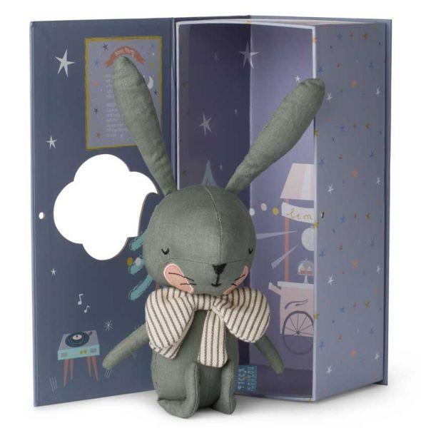 Rabbit in a gift box Picca Loulou Toys Picca Loulou