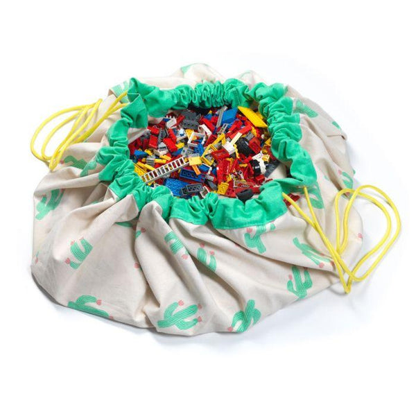 2 in 1 cactus storage bag Play&Go - limited edition