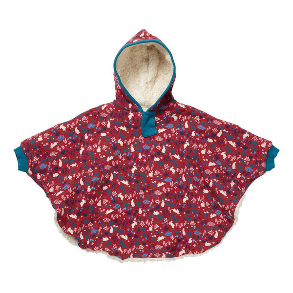 Reversible poncho bunny Piccalilly Poncho Piccalilly