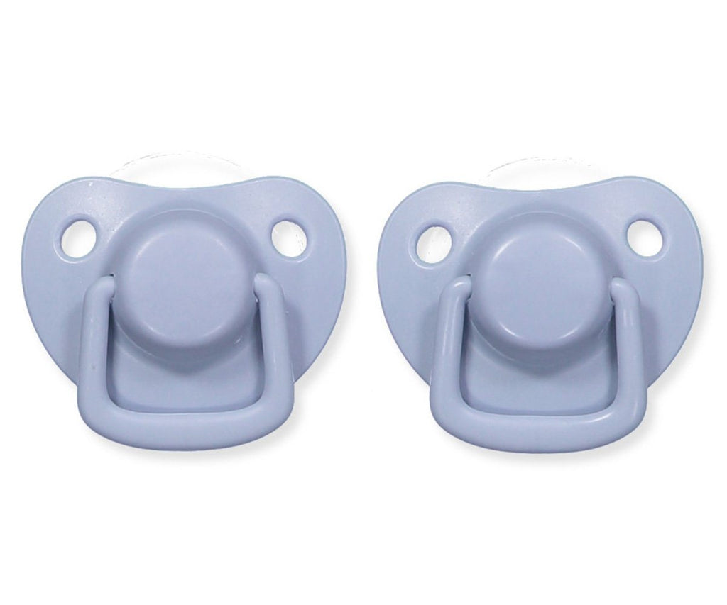 Pacifiers 2-pack powder blue 0-6M Filibabba accessories Filibabba