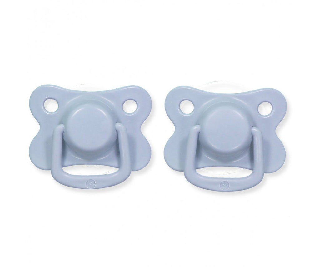 Pacifiers 2-pack powder blue +6M Filibabba accessories Filibabba