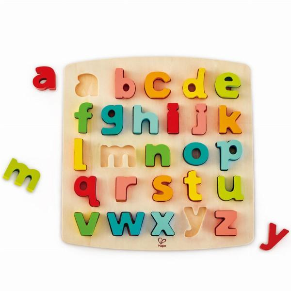 Chunky alphabet puzzle small letters Hape Toys Hape