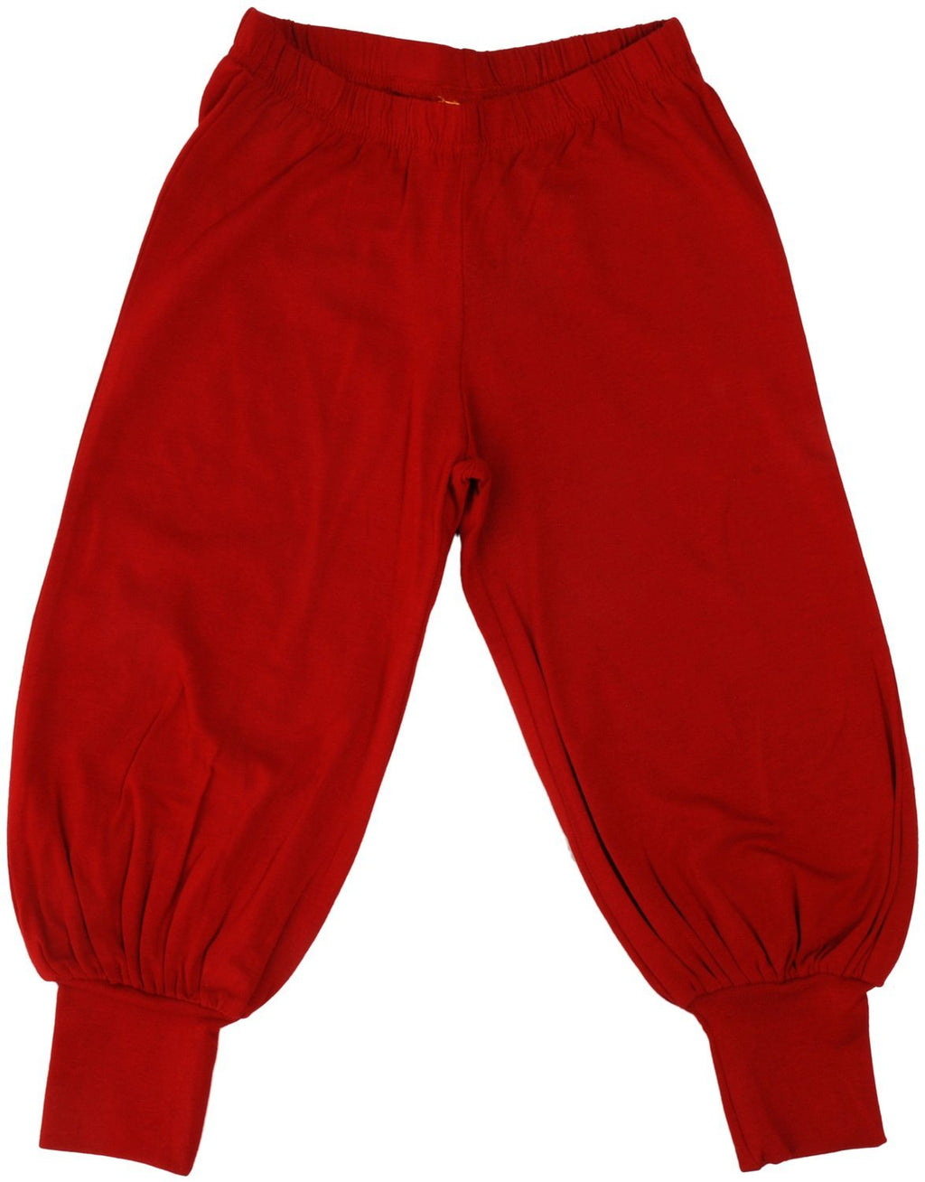 Red baggy pants
