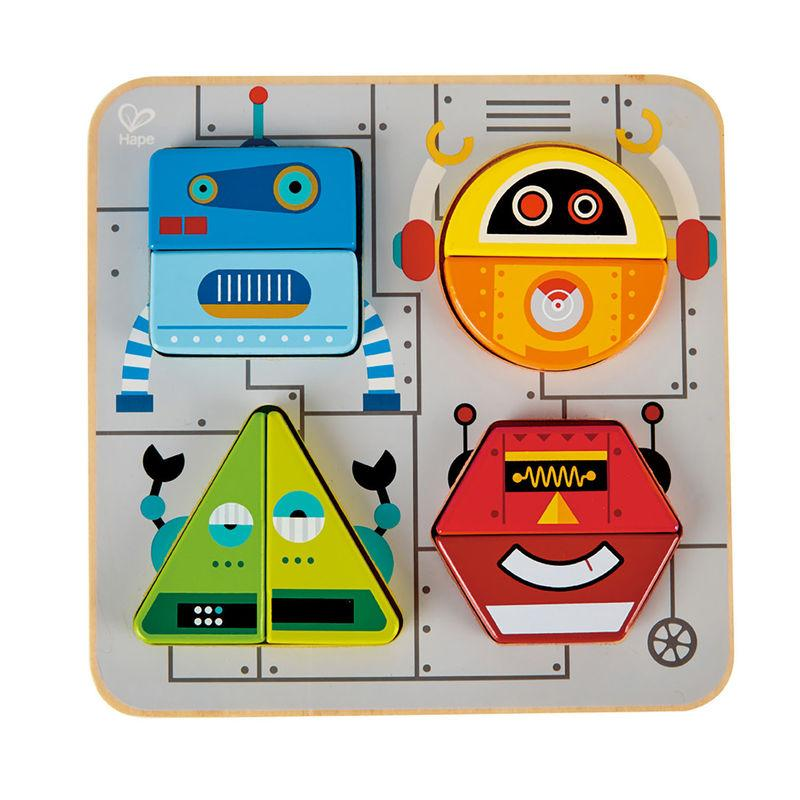 Robot sort and stand up puzzle Hape Toys Hape