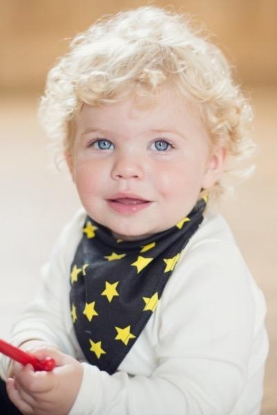Rocket reversible bandana bib