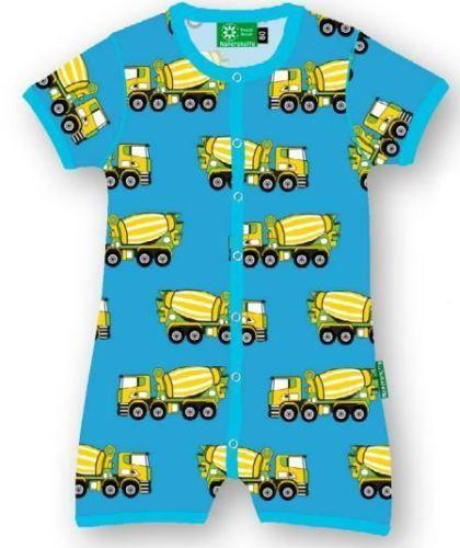 Summer suit cement truck Naperonuttu Playsuit Naperonuttu