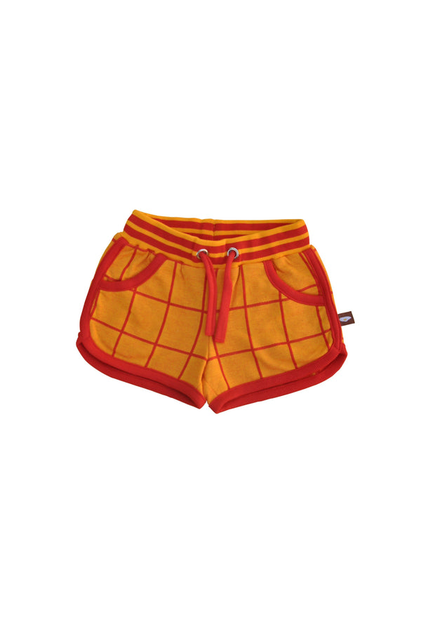 Grid jacquard shorts Moromini Bottoms Moromini