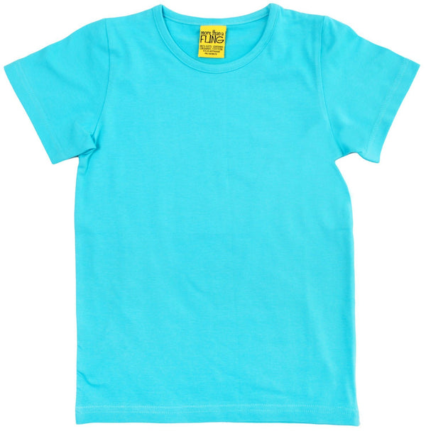 Light turquoise short sleeve top Tops More than a fling
