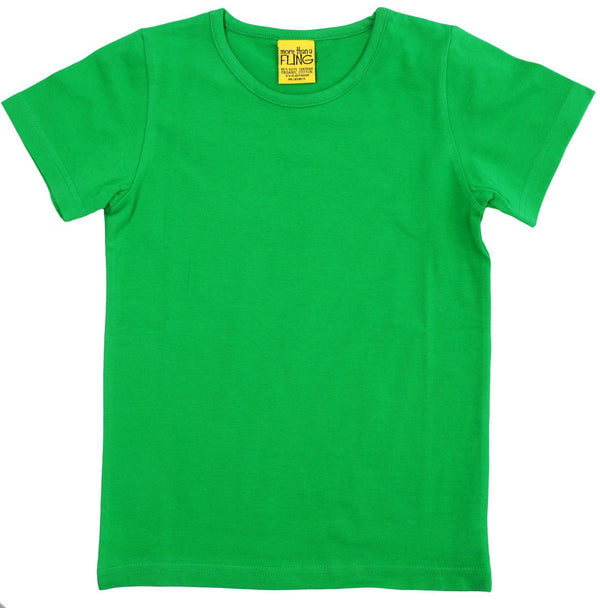 Green short sleeve top Tops More than a fling