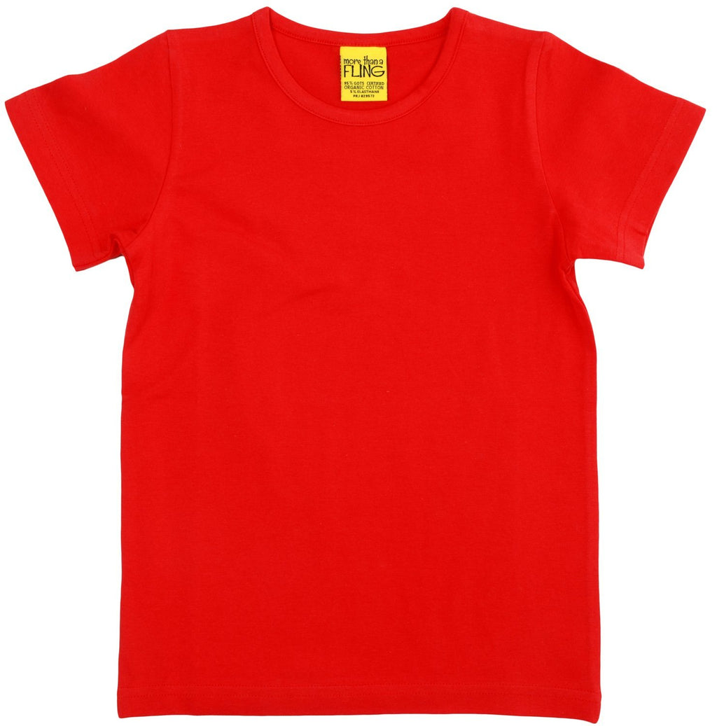 Red short sleeve top