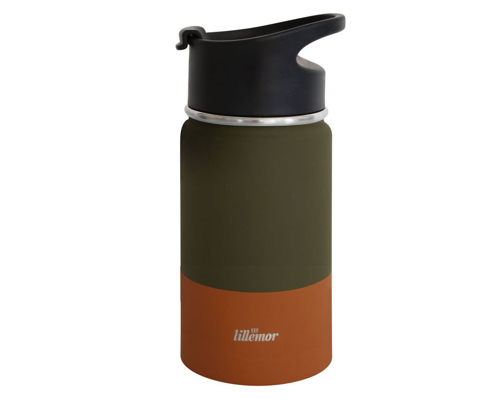 Stainless steel bottle green/palm Lillemor SPECIAL EDITION Toys Lillemor