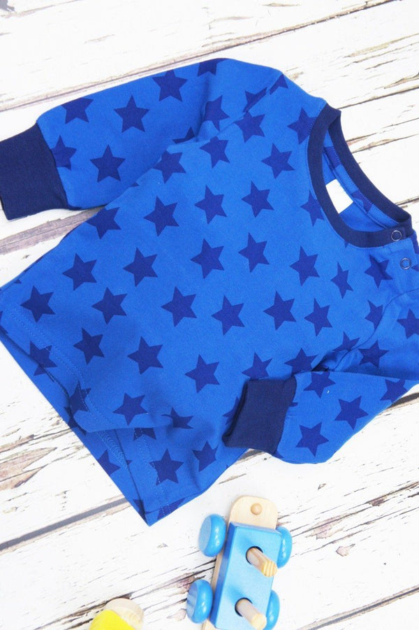 Blue star top