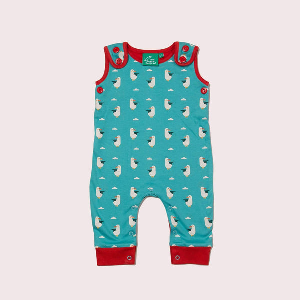 Dungarees summer seagull Dungarees Little Green Radicals