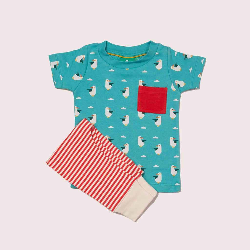 Playset summer seagull Dungarees Little Green Radicals