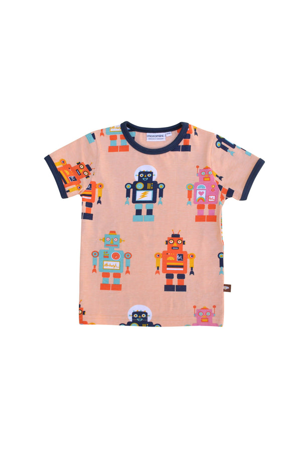 Friendly robot mommy t-shirt Moromini