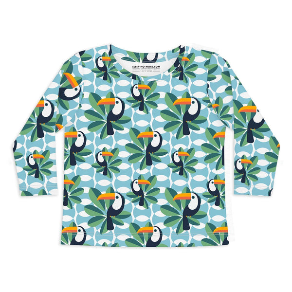 T-shirt if I can, toucan too - long sleeve