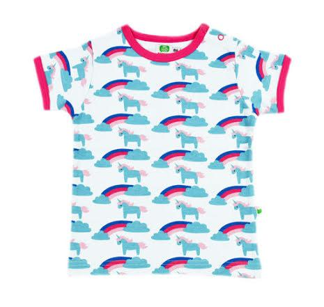 Unicorn rainbow t-shirt Sture & Lisa Tops Sture & Lisa