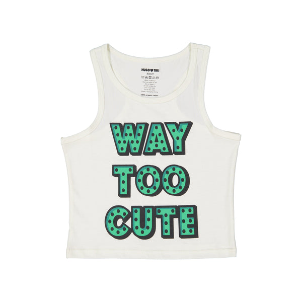 Tank top Way Too Cute Hugo Loves Tiki Tops Hugo Loves Tiki