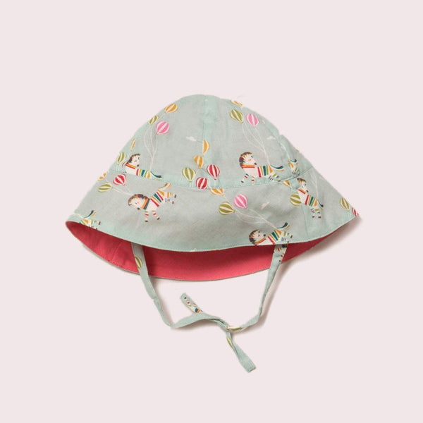 Reversible sun hat wild horses Hat Little Green Radicals