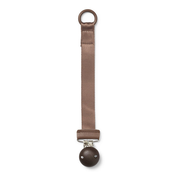 Pacifier clip wood chocolate Clip Elodie details