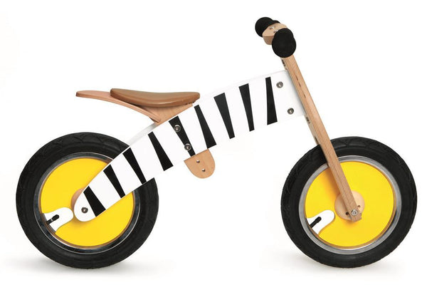 Balance bike zebra Scratch