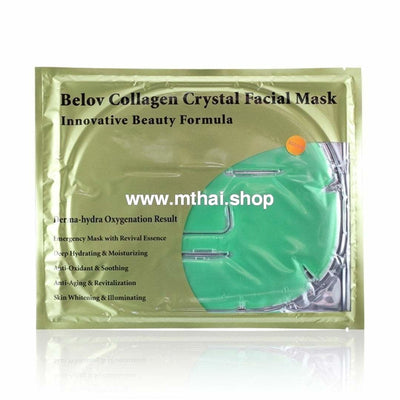 Тайская коллагеновая маска с экстрактом алоэ вера Aloe Vera Collagen Crystal Facial Mask