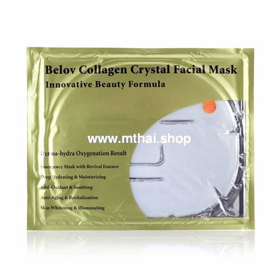 Тайская коллагеновая маска с экстрактом молока Collagen Crystal Facial Mask with milk
