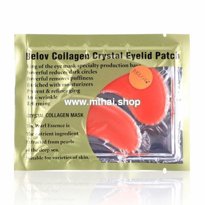 Коллагеновые маски для век с красеым вином Belov Collagen Eyelid Patch