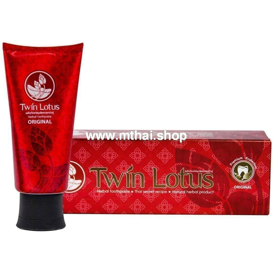 Зубная паста Original Premium от Twin Lotus 160 г / Twin Lotus Original Premium Recipe 160 g