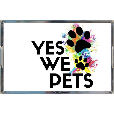 YESWEPETS TRAYS-YES WE PETS