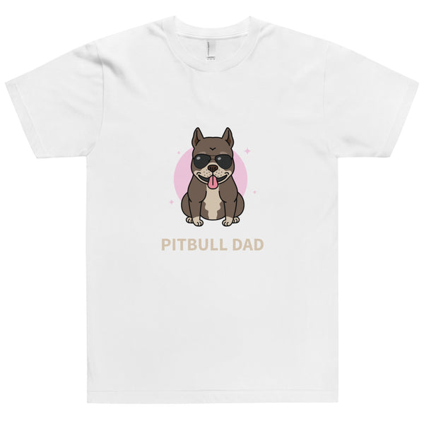 Unisex T-Shirt Pitbull Dad-YES WE PETS