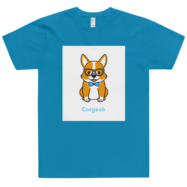 Corgeek Unisex T-Shirt-YES WE PETS