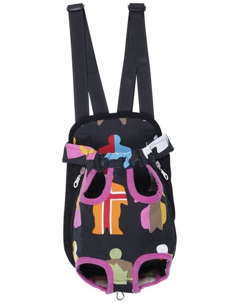 Pet Carrier Front Backpack-YES WE PETS