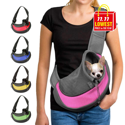 Outdoor Pet Carrier Tote Pouch-YES WE PETS