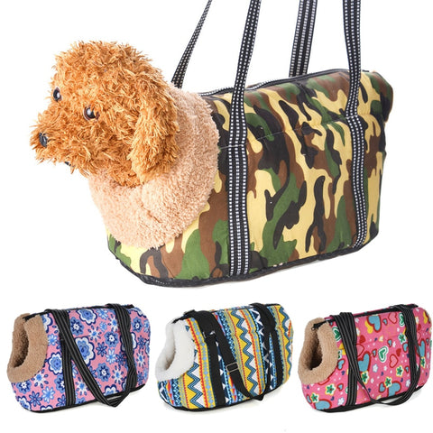 Cozy & Soft Pet Carrier Bag-YES WE PETS