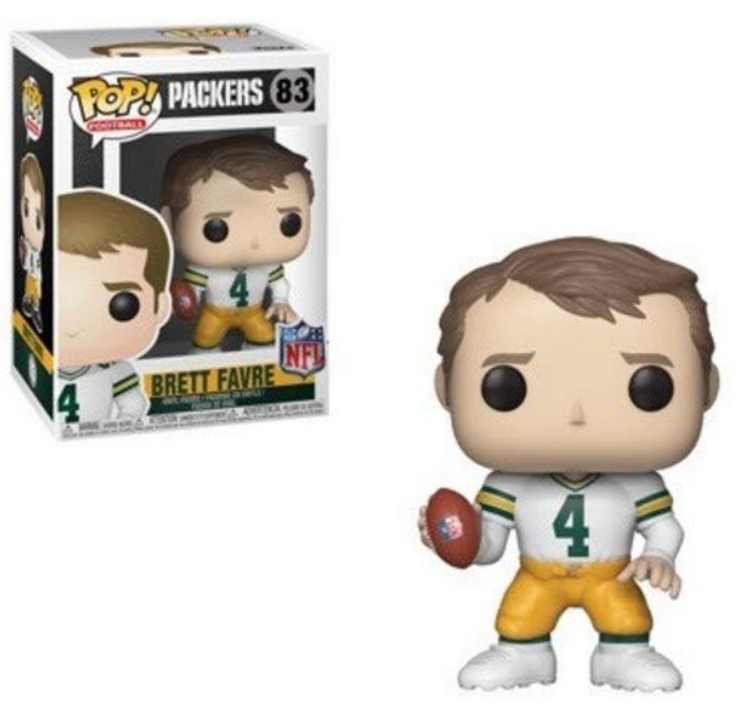 Funko POP! NFL: Legends - Brett Favre (WH)