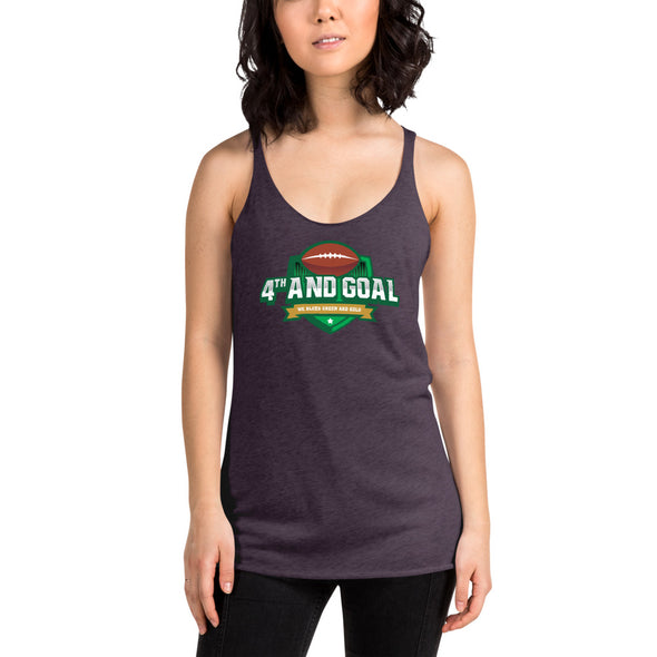 4th and Goal Women's Racerback Tank