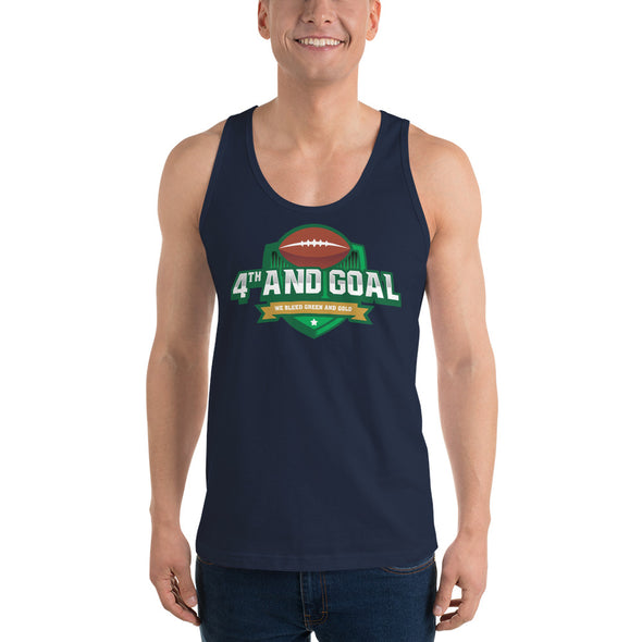 4th and Goal Classic tank top (unisex)