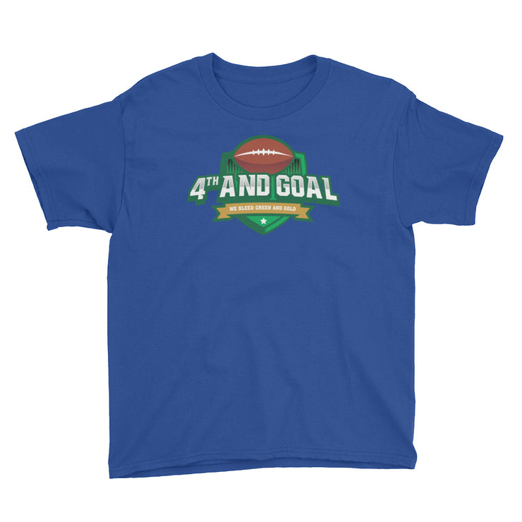 4th and Goal Youth Short Sleeve T-Shirt