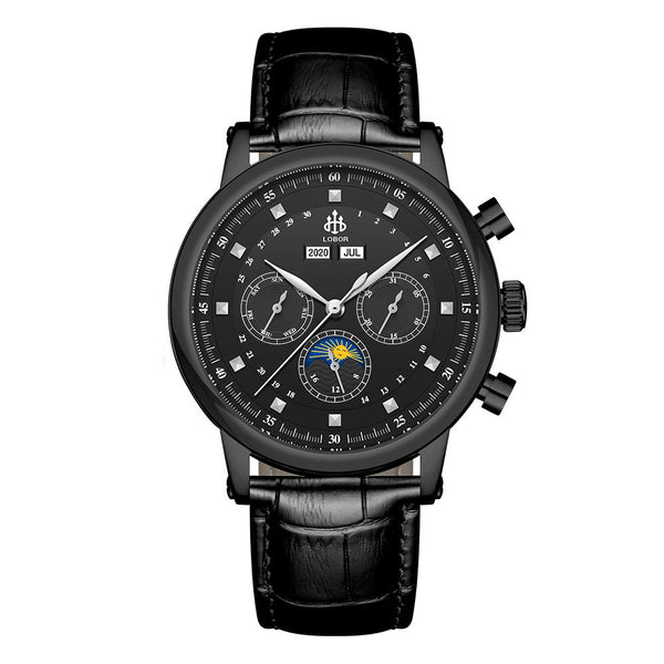 HERITAGE DURHAM BLACK 42MM