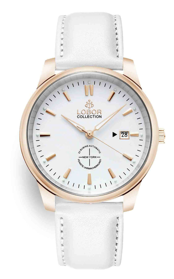 New York Bethune White 40mm