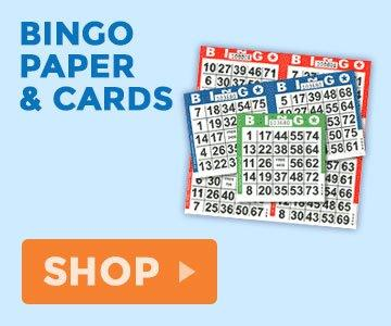 Bingo Paper and Cards
