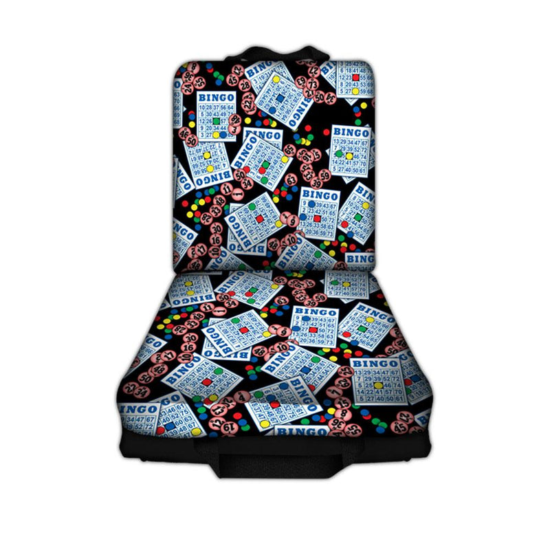 #1 Bingo Cards and Balls Bingo Cushion