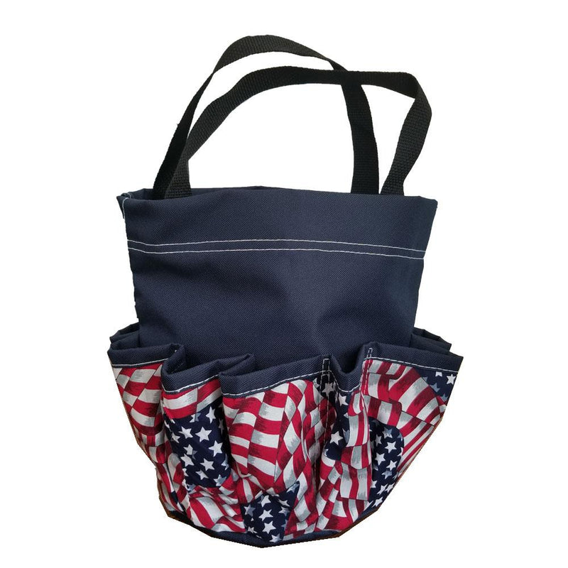Patriotic 10-Pkt Bingo Bag with Chip Pouch