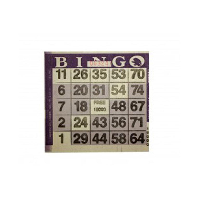 1on Pattern Bingo Paper - 3000 Sheets