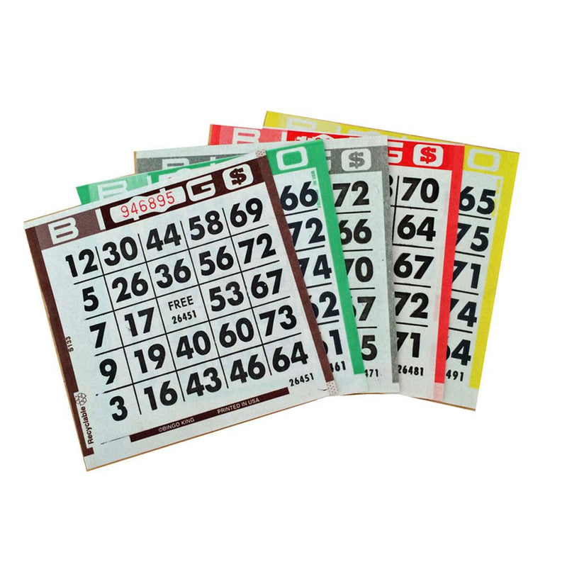1on Bingo Paper Bulk Box (Approx. 9000 Sheets)